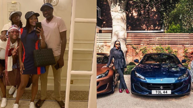 Photo of Femi Otedola takes his daughters shopping, buys Ferraris for each of them (Photos)