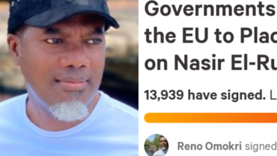 Photo of Over 13,000 people sign Reno Omokri's  petition for EU and UK to place visa restriction on El-Rufai