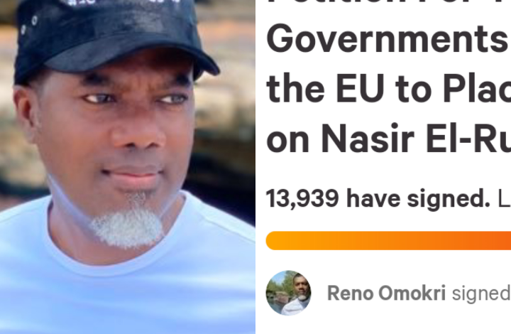 Over 13,000 people sign Reno Omokri's  petition for EU and UK to place visa restriction on El-Rufai 1