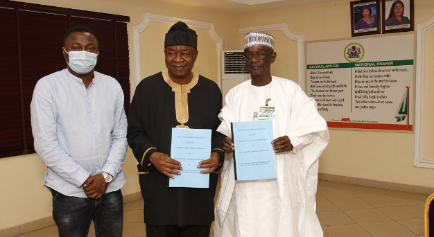 Photo of NTA and Wale Adenuga Productions (WAP) signs MoU on return of the Village Headmaster TV drama series