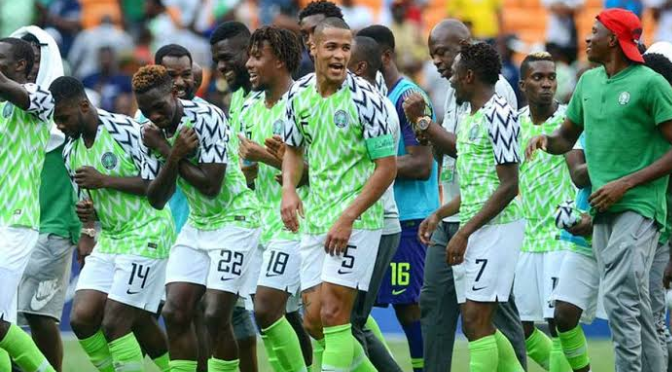 Super Eagles move up two places, ranks 29th in the world 1