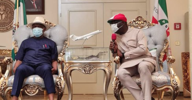Edo Election: it will be a sin against God if I don't thank Wike - Obaseki 1