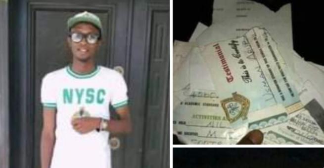 Katsina graduate sets his certificates ablaze over inability to secure a job (photos) 7