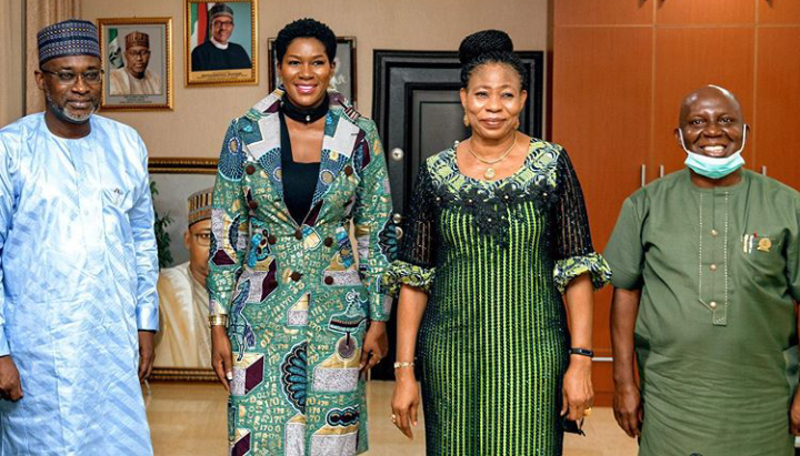 Actress, Stephanie Linus gets Ambassadorial appointment from the Minister of water resources 1