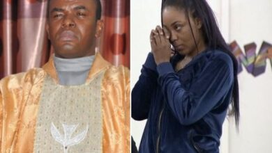 Photo of Watch Father Mbaka Predict A BBN Housemate losing out of the N85M Win Because of her sporadic Anger Issues