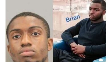Photo of Nigerian man arrested in Houston for murdering another Nigerian man over $40