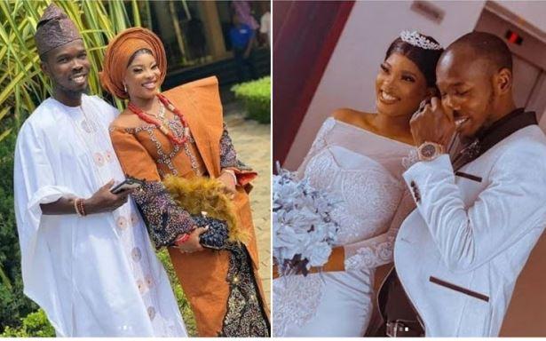 Nollywood actor, Tayo Amokade a.k.a Ijebu weds his beautiful partner 1