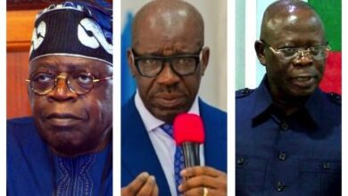 "Photo of ""We will have no mercy'- Gov Obaseki threatens to go after Oshiomole if he tries to disrupt the peace in Edo"