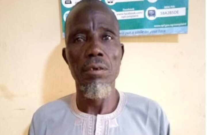 Photo of Man, 60, rapes neighbor's 5-year-old daughter in Bauchi