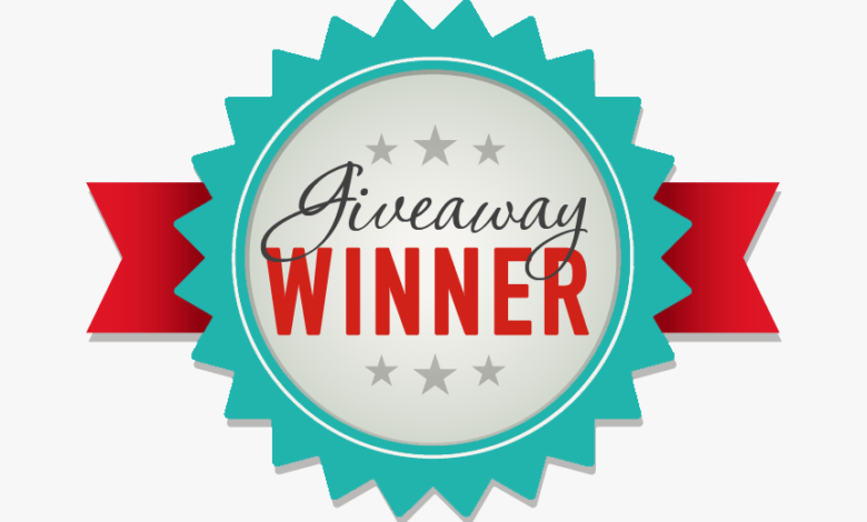 September Giveaway Winners 1