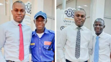 Photo of Banker narrates how he was able to help elevate a security guard to a better position in the bank
