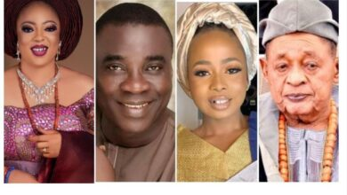 Photo of I can swear Olori Ajoke didn't have an affair with KWAM 1 – Wife of Alaafin of Oyo, Olori Folashade