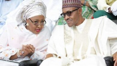 Photo of COVID-19 is a sign that God is not happy with us – Aisha Buhari