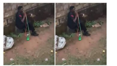 Photo of Police reacts as video of drunk officer smoking shisha goes viral