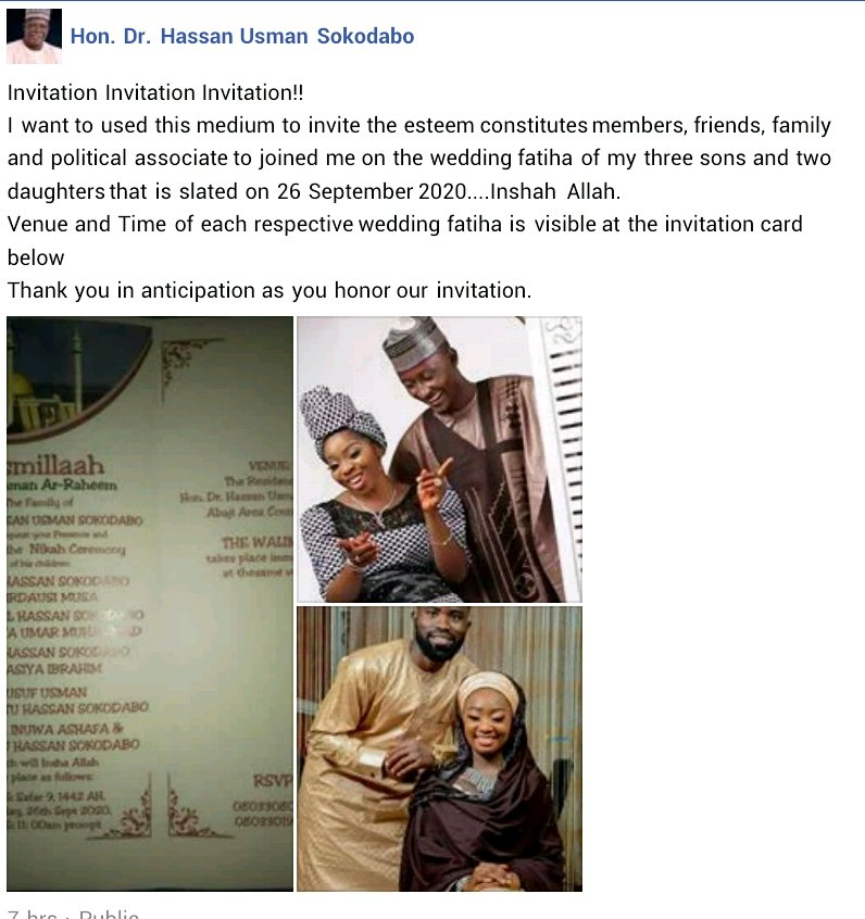 Five children of a lawmaker set to wed on the same day (Photos) 10