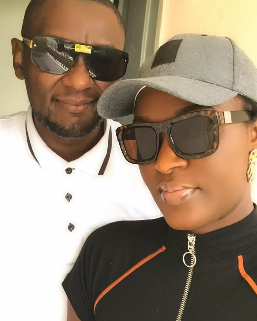 Chacha Eke shares loved up photos with her husband Austin Faani 4
