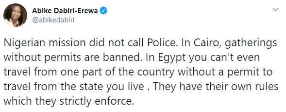 FG reacts as Nigerians are arrested in Egypt for EndSARS protest 9