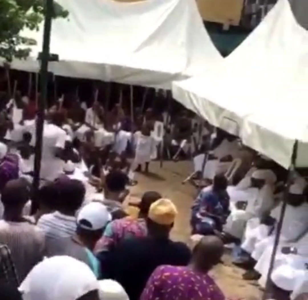 Ritual Rites held for the return of Oba of Lagos Staff to the Palace (Photos) 11