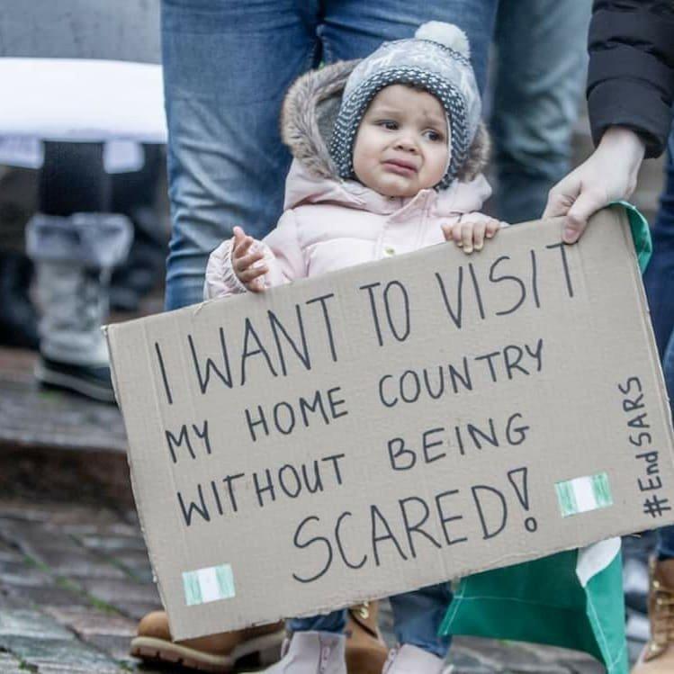 #EndSARS protest holds in Helsinki (Photos) 13