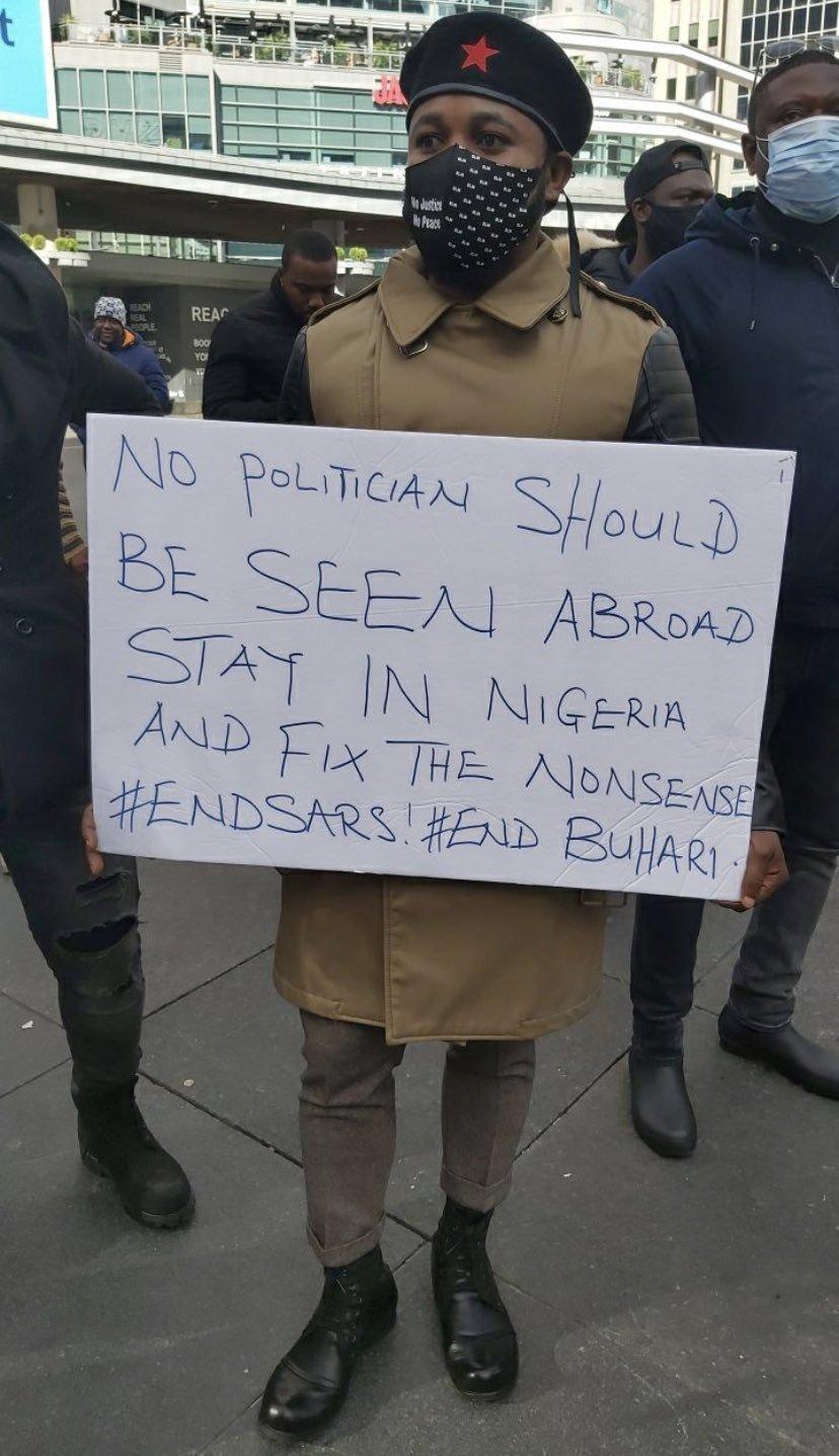 #EndSARS protest holds in Helsinki (Photos) 15