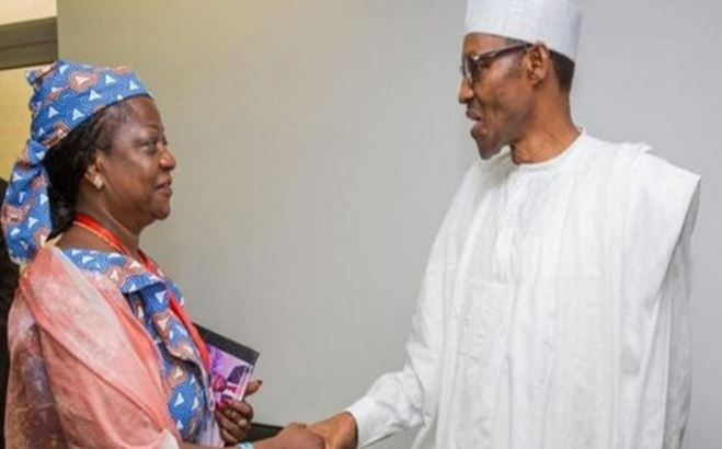 Senate Minority Caucus rejects Buhari's aide, Lauretta Onochie's nomination as INEC Commissioner 1