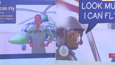 Photo of Comic Book launched in honor of Late Flying officer Arotile