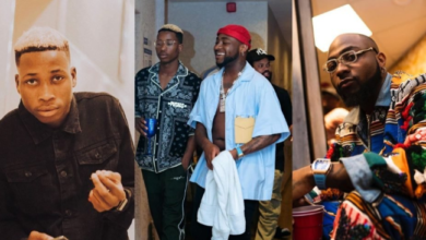 Photo of Davido terminates Lil Frosh's record contract for assaulting his girlfriend