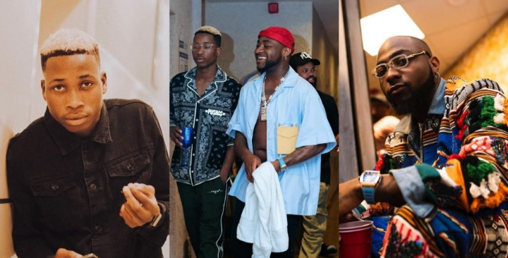 Davido terminates Lil Frosh's record contract for assaulting his girlfriend 3