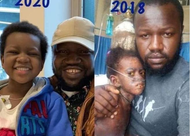 Journalist shares amazing transformation of 5-year-old Nigerian girl who beat Leukemia 3