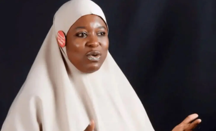 """Killings in the North has not stopped so why have you stopped?"" - Aisha Yesufu asks protesters 1"