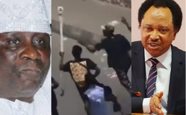 """""""Whoever Carted Away The Staff Of The Oba Of Lagos And His Shoe Should Please Respect The Throne And Return It"""" - Shehu Sani 1"""