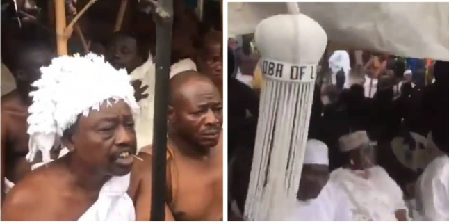 Ritual Rites held for the return of Oba of Lagos Staff to the Palace (Photos) 9