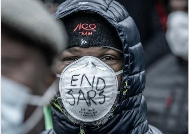#EndSARS protest holds in Helsinki (Photos) 11