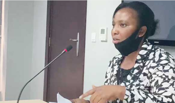 Nigerian lady narrates to Judicial council how she lost her pregnancy after SARS detained her for 22 days. 1