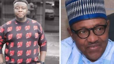 """Photo of #EndSARS: """"Shameful that a former General cannot come to the aid of his own people""""- Comedian Elenu Writes President Buhari"""