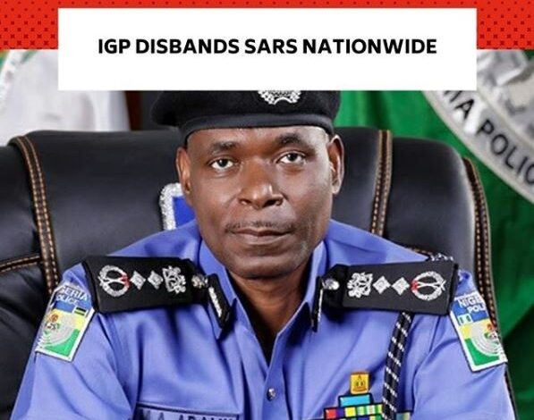 Video: IGP dissolves SARS nationwide; all operatives to be redeployed, new Unit to be formed later 1