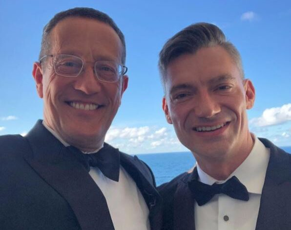 CNN's Richard Quest marries longtime male partner 1