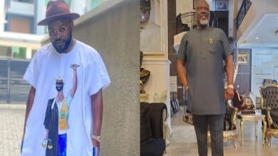 Photo of Don't act like you are one of us – Falz attacks Dino Melaye amidst #EndSARS protest