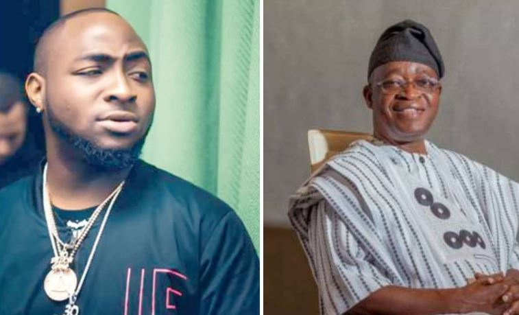 You have failed the people of Osun - Davido calls out Governor Oyetola over death of two #EndSARS protesters 1
