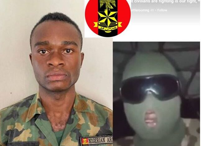 Photo of Army says it has arrested the soldier who begged his colleagues not to shoot at #EndSARS protesters in video