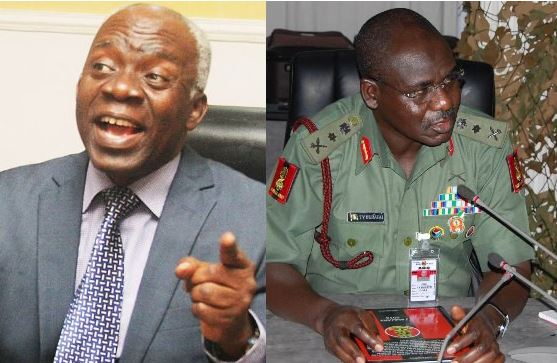 Lekki Shootings: Nobody should believe the military, it has a history of lies and deceits —Falana 1