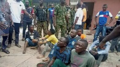 Photo of Seven arrested for invading Senator Teslim Folarin's home where brand new motorcycles were stolen