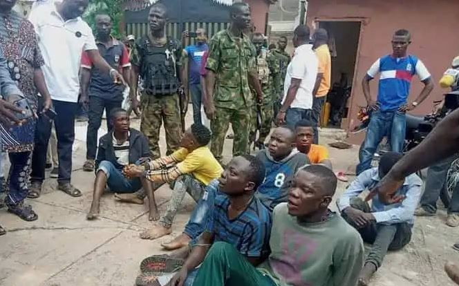 Seven arrested for invading Senator Teslim Folarin's home where brand new motorcycles were stolen 1