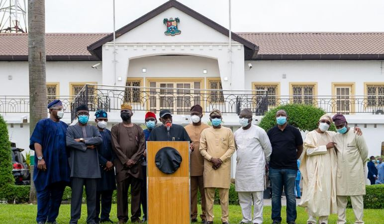 Photo of South West Govs pay condolence visit to Gov Sanwo-Olu, say coordinated attacks in Lagos was an attempt to weaken Southwest economy