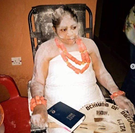 Regina Daniels' mom, Rita Daniels obtains chieftaincy title (Photos) 6