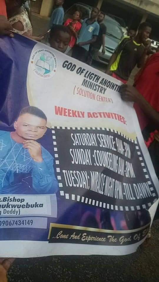 Pastor in Anambra State stripped and paraded after he was allegedly caught with charms (Photos) 12