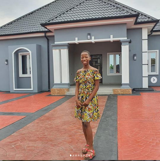 Kid comedienne, Emmmanuella gifts her mother a new house (Photos) 10
