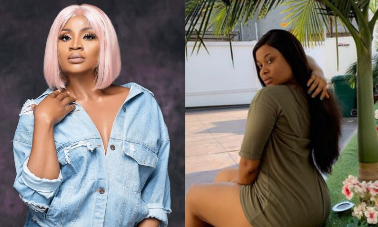From the mouth of a full-blown Lesbian - Actress Uche Ogbodo slams Inem Peter for saying women are happier without men 1