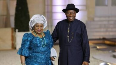 Photo of I'll choose you to be my husband over and over – Patience Jonathan tells her hubby, Goodluck Jonathan