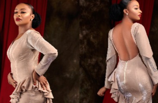 Northern filmmakers suspend Actress, Rahama Sadau over photos of her wearing a backless dress 1
